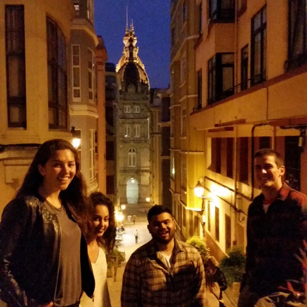 Visiting La Ciudad Vieja de La Coruña!
