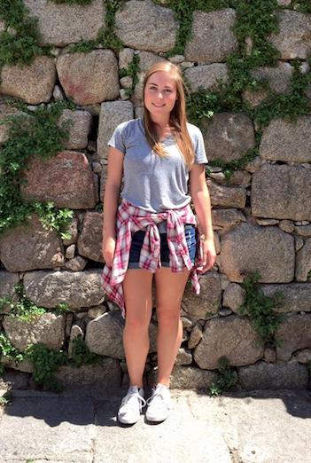Christina in Spain!