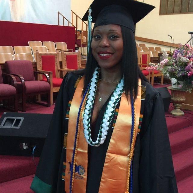 Devyn Morris graduation